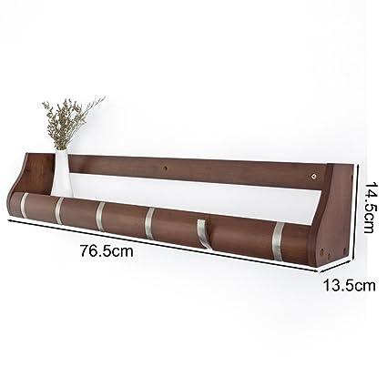 531726f2ae Amazon.com: Creative Wall-mounted Multifunction Wooden Hidden Hook ...
