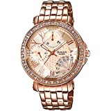 Casio Sheen Analog Pink Dial Women's Watch - SHN-3011PG-9ADR(SX143)