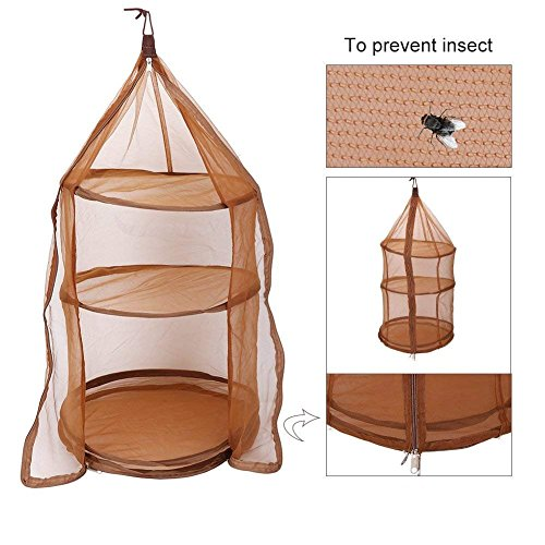 Fish Mesh Hanging Drying Net 4 Layer Dry Net Foldable Dishes