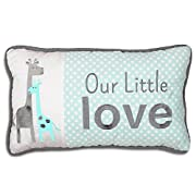Uptown Giraffe Lumbar Pillow by The Peanut Shell