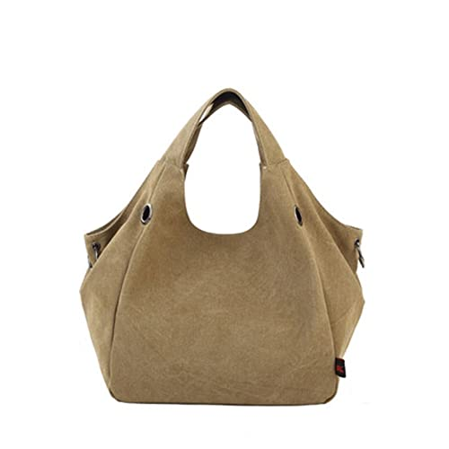 0289d9e3f3c61 Women's Canvas Shoulder Bag Durable Hobo Handbag Sturdy Tote Bag Cross body Bag  (Style 1