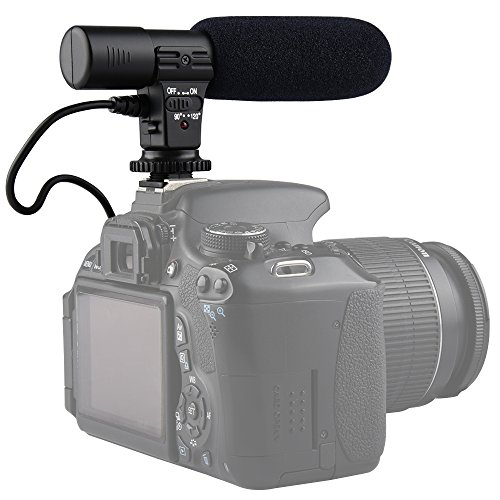 SUPON Sidande Mic-01 Digital Video Camera Studio / Stereo Shotgun Recording Microphone for Digital SLR Camera by SUPON