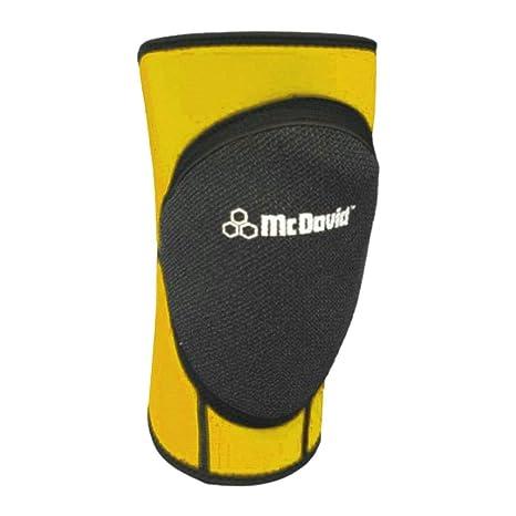 McDavid de balonmano rodilleras estándar [amarillo], amarillo ...