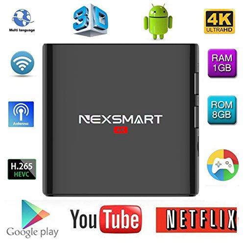 Preyda NEXSMART D32 4K Android TV Box, Android 5 1 Support 4K Ultra