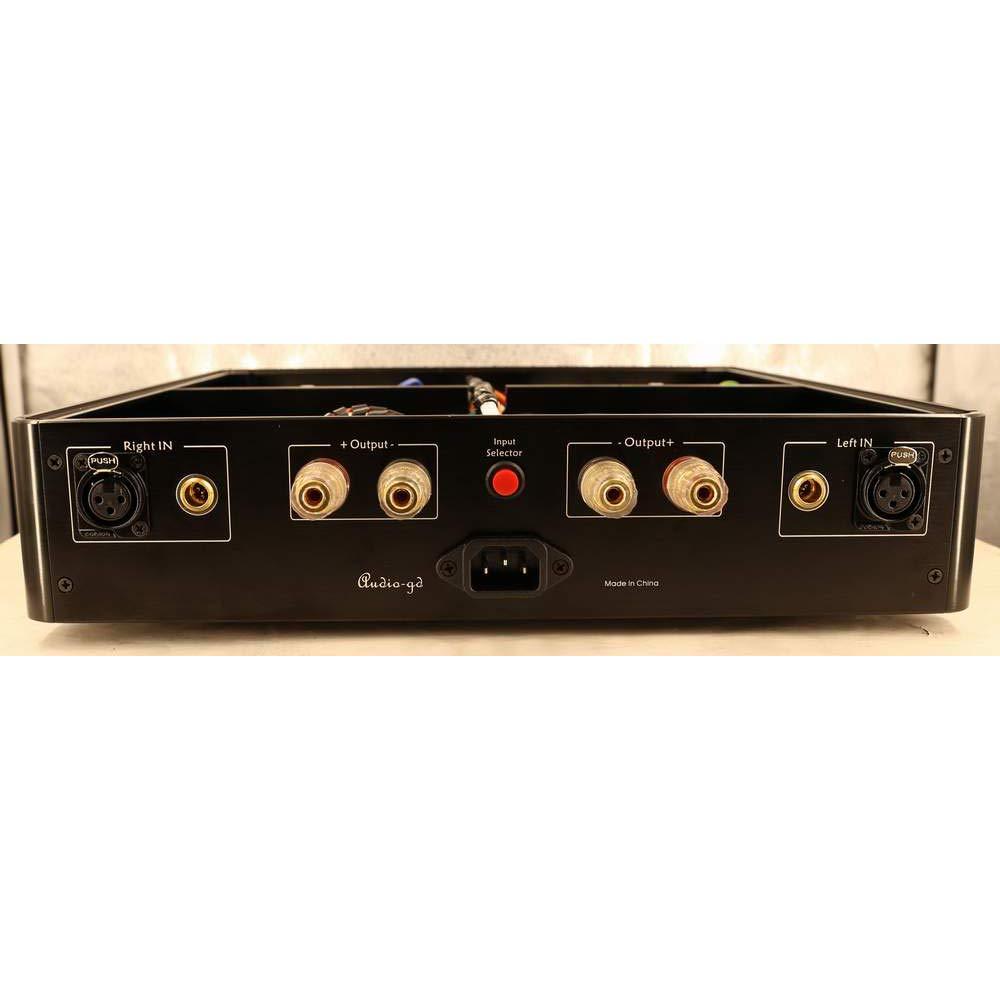 Linsoul Audio-GD A1 フィードバックなしのアンプ XLR と CASTの輸入 高出力1200W 125Wアワーアンプ 多機能 NOVERとWIMA 容量 Vishay/KOA 125W X2 (8 Ohms)の輸出 高音質 高保真   B07GYKK9QG