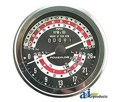 A & I – Tacómetro (MPH) (Reino Unido Modelo W/doble embrague