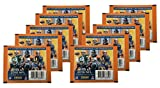 2016 Panini NFL Football Stickers - 10 Sticker Packs! 70 Stickers!