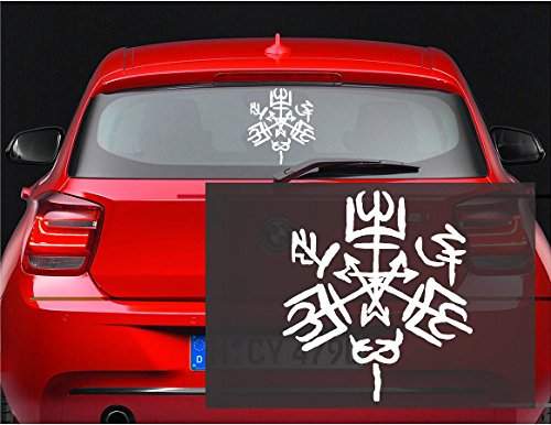 Purgatorio Symbol Supernatural Sticker Windows product image