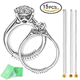 Ring Size Adjuster,Silicone Ring Guard,Rubbery Transparent Clear Ring Sizer For Any Loose Rings