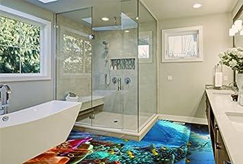 3d Vinyl Fußboden ~ Ruvitex d belag dekor boden badezimmer vinyl pvc teppich