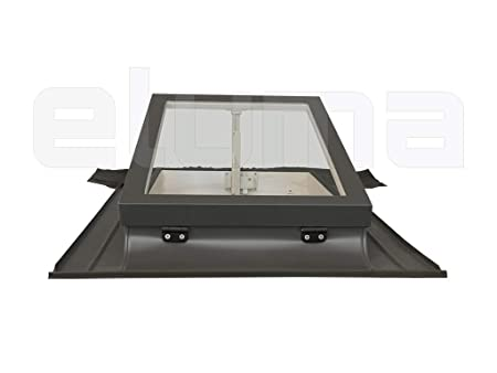 modell CLASSIC VASISTAS//Dachfenster 72x48 Breite x H/öhe Eindeckrahmen//Oberlicht///Öffnung Art Velux//Doppelglas Ausstiegsfenster