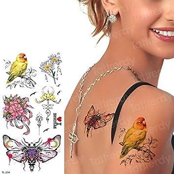 HXMAN 5 Unids Tatuajes Temporales De Moda Underboob Sexy Mandala ...