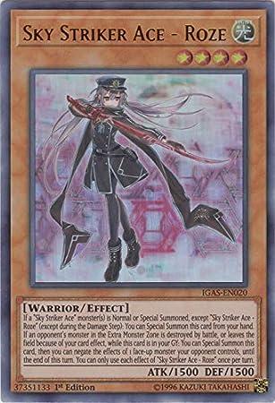 Sky Striker Ace Roze Unlimited Edition Ultra Rare IGAS-EN020 Yu-Gi-Oh!