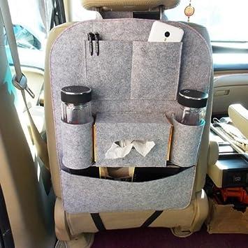 Auto Car Seat Organizer Sundries Holder Multi-Pocket Backseat Storage Box