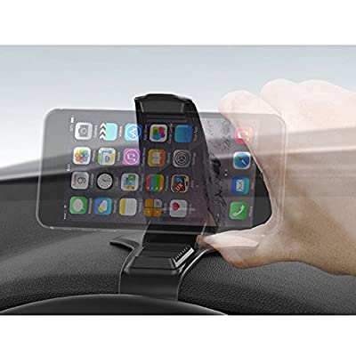 MANORDS Car Phone Mount, Phone Holder Universal Car Mount Holder Compatible iPhone Xs Max 8 Plus 7 Samsung Galaxy S10 S9 S8 Plus Edge Note 9 and More