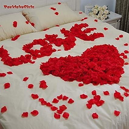 Buy lilone 200 pcs lot rose petals home decoration accessories red lilone 200 pcs lot rose petals home decoration accessories red and white junglespirit Gallery