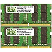 32GB (2 X 16GB) DDR4-2400MHz PC4-19200 SODIMM for Apple iMac 27 2017 Intel Core i7 Quad-Core 4.2GHz MNED2LL/A CTO (iMac 2718,3 Retina 5K Display)