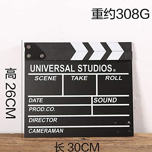 Film Action Board Movie Clapboard Digital Board Movie Board Digital Movie Board Movie Scene Wooden Clapper Board Director Film Movie Cut Action Crafts Decor Ornament