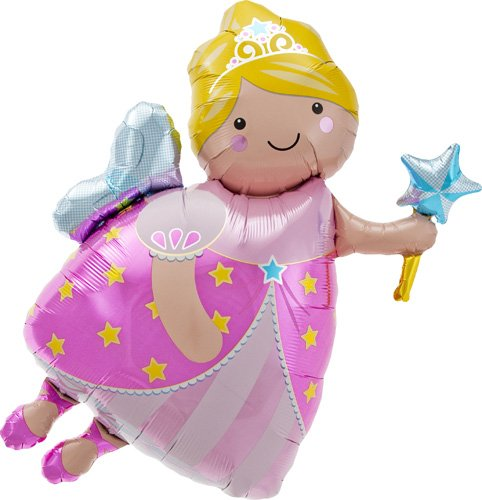- Fairy Godmother Helium Foil Balloon - 36 inch