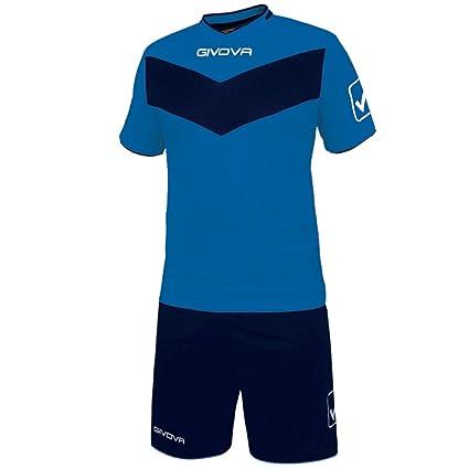 givova kitt04, Camiseta y Pantalón Corto De Fútbol Unisex Adulto: Amazon.es: Deportes y aire libre