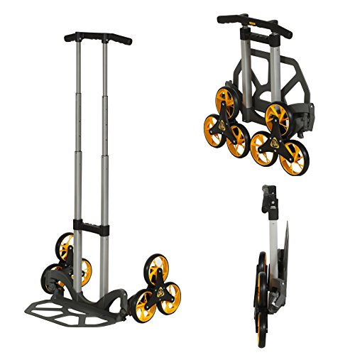 upcart lift all-terrain folding hand truck