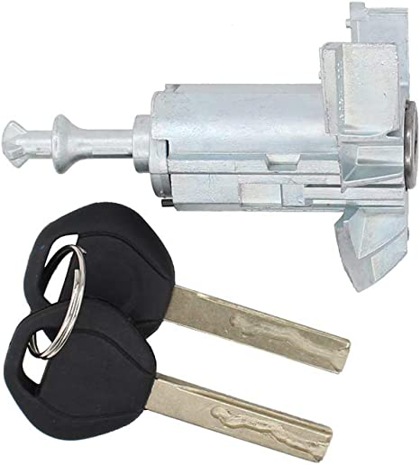 NewYall Front Left LH Driver Side Door Lock Cylinder Barrel w// 2 Keys