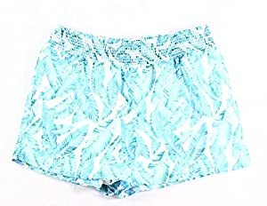 Romeo & Juliet Feathers Womens Small Soft Shorts Blue S