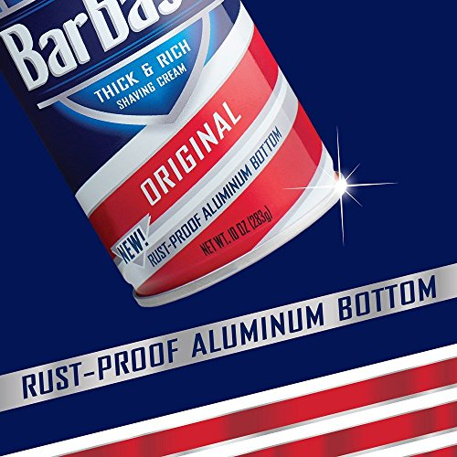 Large Product Image of Barbasol Original Thick and Rich Shaving Cream for Men, 10 Ounce, Pack of 6
