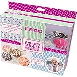 LE MEILLEUR PÂTISSIER 95737 MP - Kit para elaborar Pop Cakes (silicona y papel)
