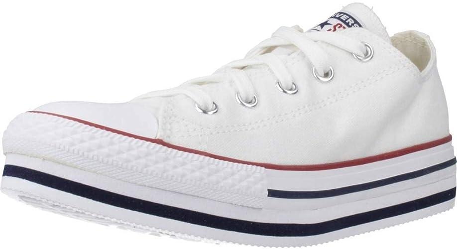 girls all white converse