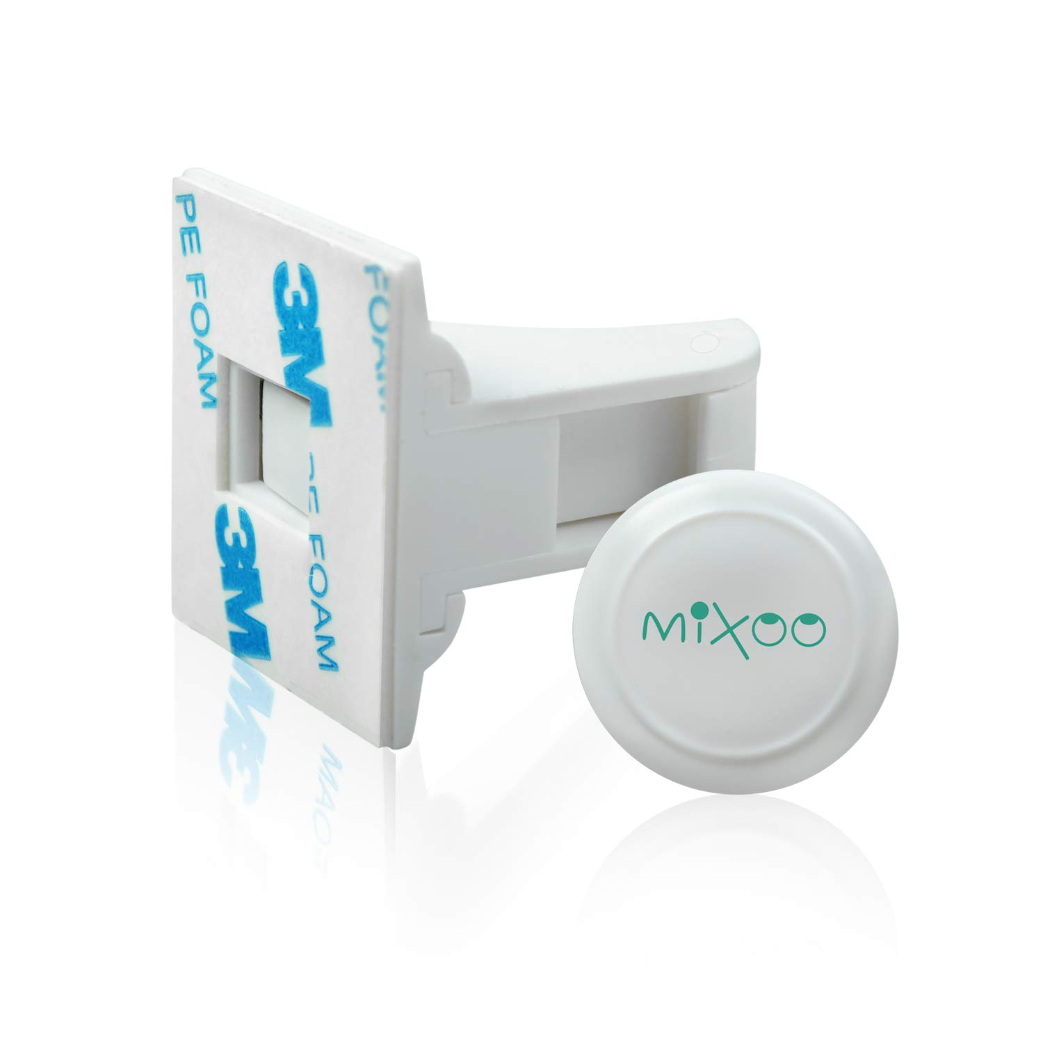 Mixoo Baby Proofing Magnetic Cabinet Locks Child Safety for Drawer, Cupboard,Closet, No Tools or Screws Needed (16 Locks + 3 Keys)