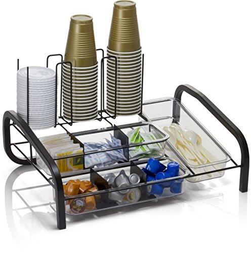 Officemate breakcentral Multi breakroom Organizador y café Pod titular, Negro (28002)