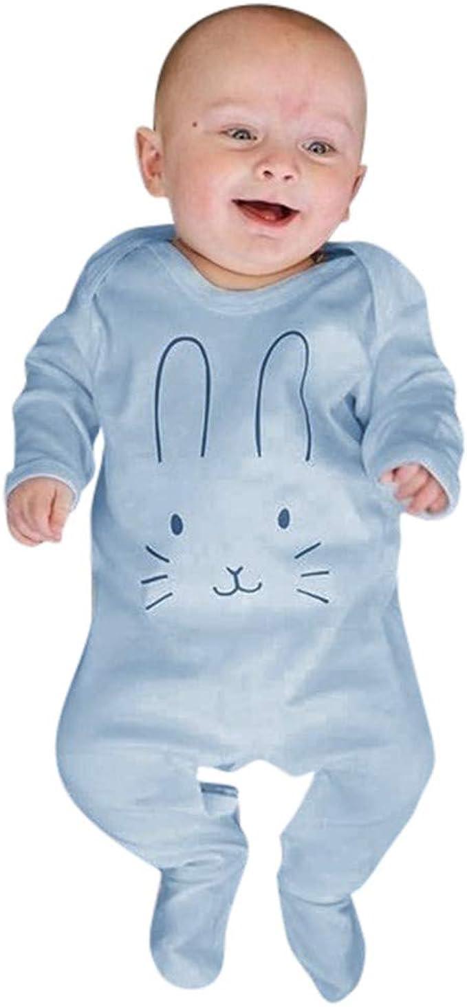 Divertido Pijama, K-Youth Pelele Bebe Niño Conejo Bodies Bebe ...