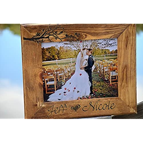 personalized wedding picture frames amazon com