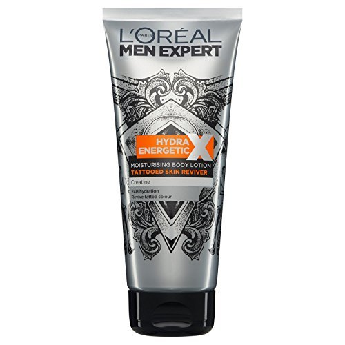 Men Expert Skin Care Hydra Energetic Tattoo Lotion, 200 ml by Men Expert Skin Care L'Oreal