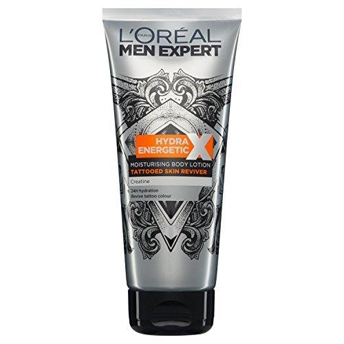 Men Expert Skin Care Hydra Energetic Tattoo Lotion, 200 ml by Men Expert Skin Care L' Oreal