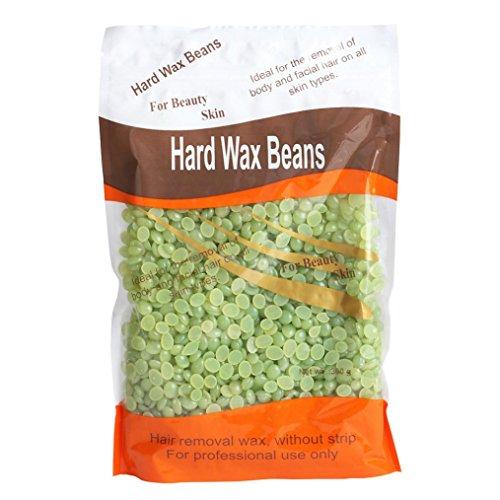 Depilatory ,Besde Women Wax Pellet Waxing Bikini Hair Removal Bean (tea-flavored)
