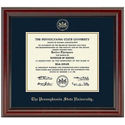Amazon.com : Penn State Fidelitas Diploma Frame : Sports & Outdoors