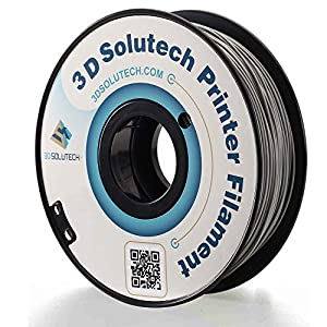 3D Solutech Real Grey 1.75mm PETG 3D Printer Filament 2.2 LBS (1.0KG) - PETG175GRY 15