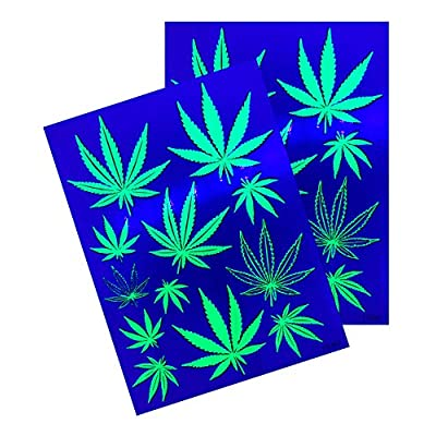 d'IRIS studio Party Stickers (Hemp 420)-2 Sheets: Toys & Games