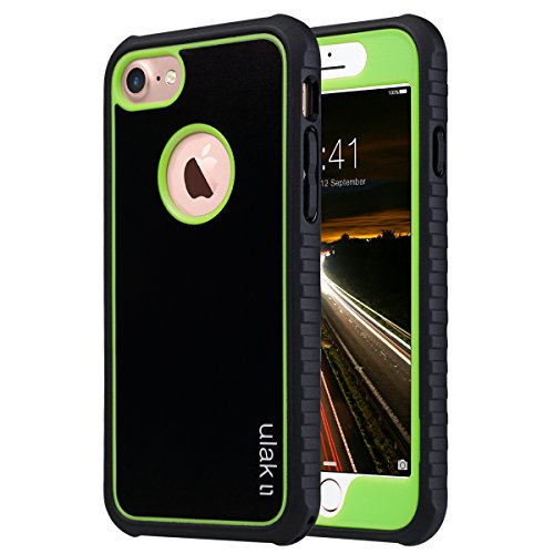 iPhone-7-Case-ULAK-Shock-absorbing-Flexible-Durability-TPU-Bumper-Case-Durable-Anti-Slip-Front-and-Back-Hard-PC-Defensive-Protection-Cover-for-Apple-iPhone-7-47-inch-2016