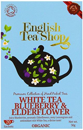 English Tea Shop - White Tea Blueberry & Elderflower - 30g - Import It All