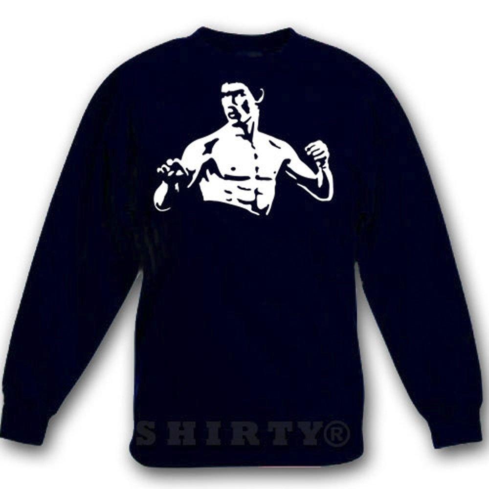 Bruce Lee - Kung Fu - Sweat - Shirt - schwarz - S bis 5XL - 1002