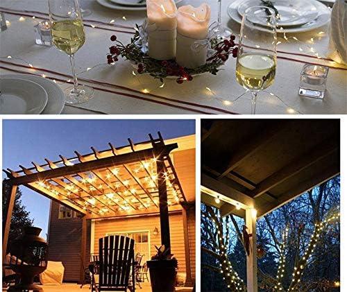 Solar String Lights Waterproof Outdoor String Lights For Garden Patio Gate Yard Party Wedding Indoor Bedroom 10M100 Led Starlight Fairy Light