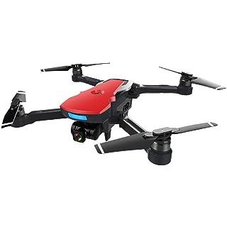 Sunnywill Drone di Quadcopter di Altezza di GPS della Macchina Fotografica Senza Spazzola di 2.4g FPV WiFi HD 1080P di CG033 (LCD Remote Control-Rosso)