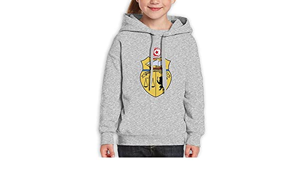 DTMN7 Coat Of Arms Of Tunisia Awesome Printed Cotton Top For Girl Spring Autumn Winter