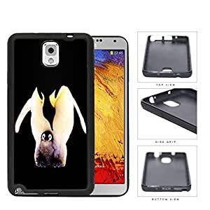 Penguins Father And Child Rubber Silicone TPU Cell Phone Case Samsung Galaxy Note 3 III N9000 N9002 N9005
