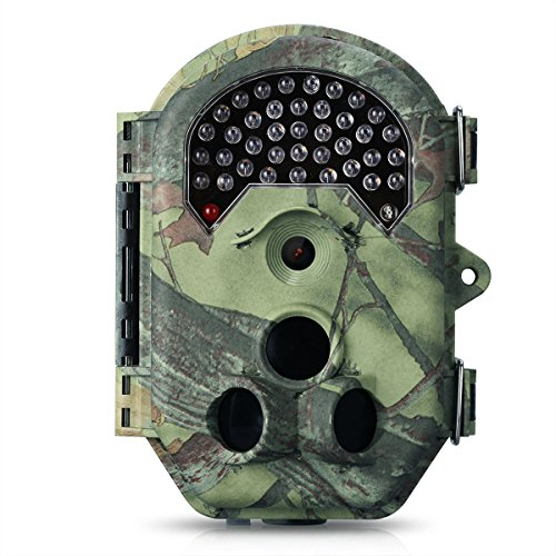 Best Video Camera for Hunting, Breemann 16MP 1080P HD 120° PIR Sensor Infrared Scouting Tracker Trail Camera with 66FT/20M Night Vision Distance 0.2S Trigger Speed IP54 by Breemann