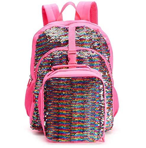 Kids Flippable Sequin Backpack & Lunch Bag Set (Pink) for $<!--$45.90-->
