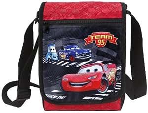Disney Cars - Team 95 niños Bolsa bandolera - Bolsa de hombro 25x30x6cm